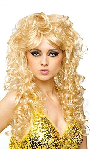 Blonde Seduction Wig (Seduction Wig Costume Accessory)