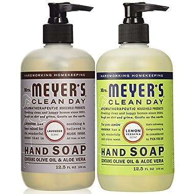 Mrs. Meyers Liquid Hand Soap Lavender & Lemon Verbena, 12.5 oz. each