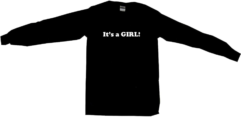 Its a Girl Birth Pregnancy Announcement Mens Sweat Shirt