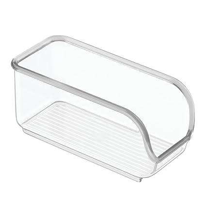 InterDesign Linus cajoneras de plástico para azucarillos | Ideal para utensilios de cocina y sobres de azúcar | Organizador armarios con apertura ...