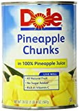 Dole Pineapple Chunks, 20 Ounce (Pack of 6)