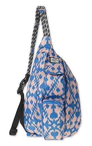 0e95d7def7 KAVU Mini Rope Pack Sling Bag Crossbody Shoulder Polyester Sling Backpack -  Surf Blot