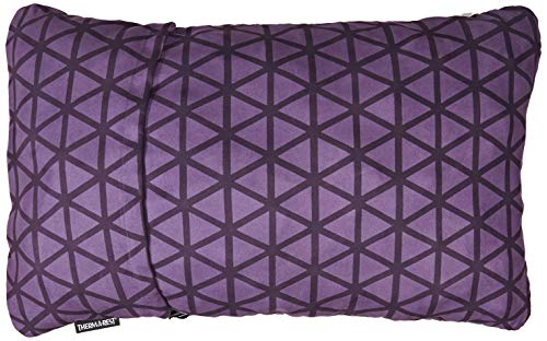 Therm-a-Rest Compressible Travel Pillow for Camping, Backpacking, Airplanes and Road Trips, Amethyst, X-Large - 16.5 x 27 Inches (Best Motorcycle For Long Road Trips)