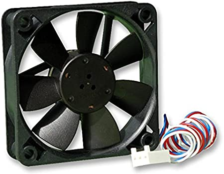 Amazon Com Ebm Papst 612f 2l 640 Axial Fan 60 Mm 12 Vdc 9 9 Cfm 16 Dba Computers Accessories