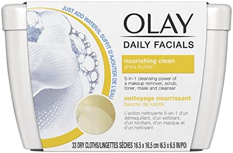 Facial Cleansing Wipes: Olay Daily Facials Nourishing Clean