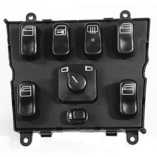 Eshion 1638206610 master power window switch 1998 2003 for for 1999 mercedes ml320 window switch