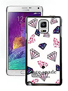 Personalized Popular Design Samsung Note 4 Case Kate Spade New York Phone Case For Samsung Galaxy Note 4 Plastic Cover Case 79 Black
