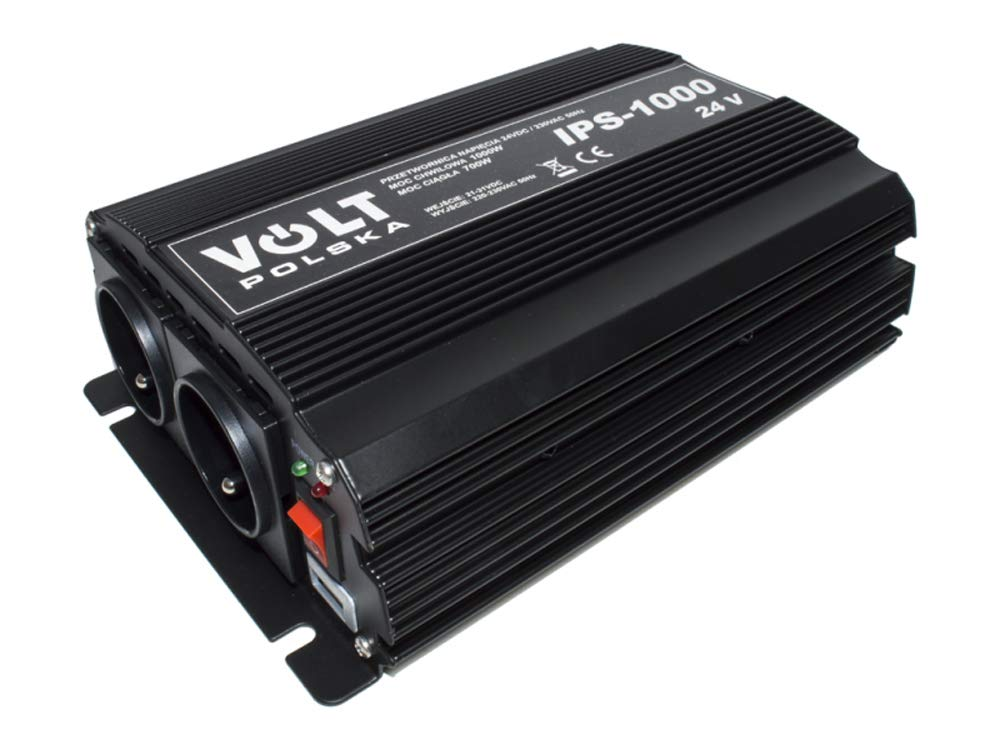 Spannungswandler Wechselrichter Reiseadapter Inverter 700/1000W 24V 230V (IPS700/1000-24V) Volt