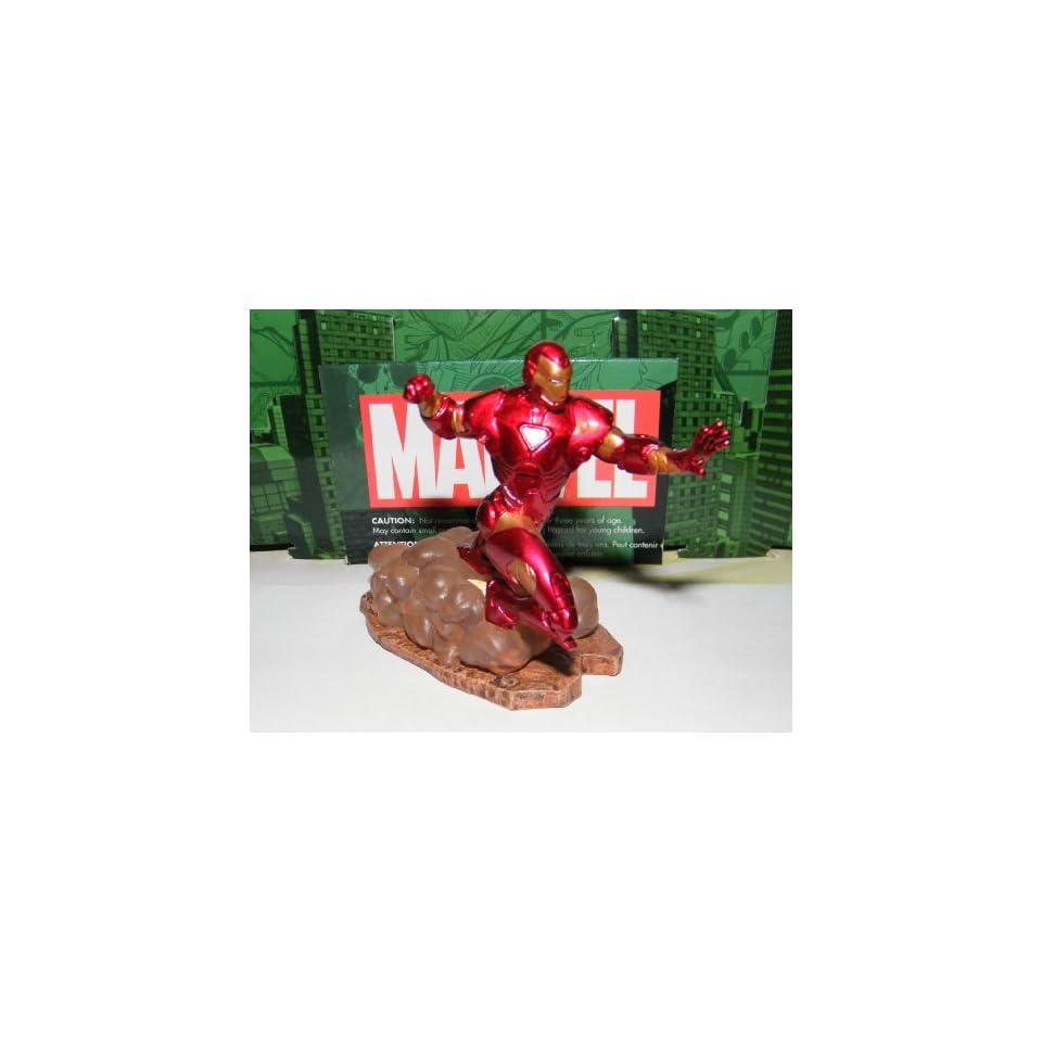 Iron Man Avengers Marvel Superhero Figure Disney Exclusive with Sticker and Tattoo Set