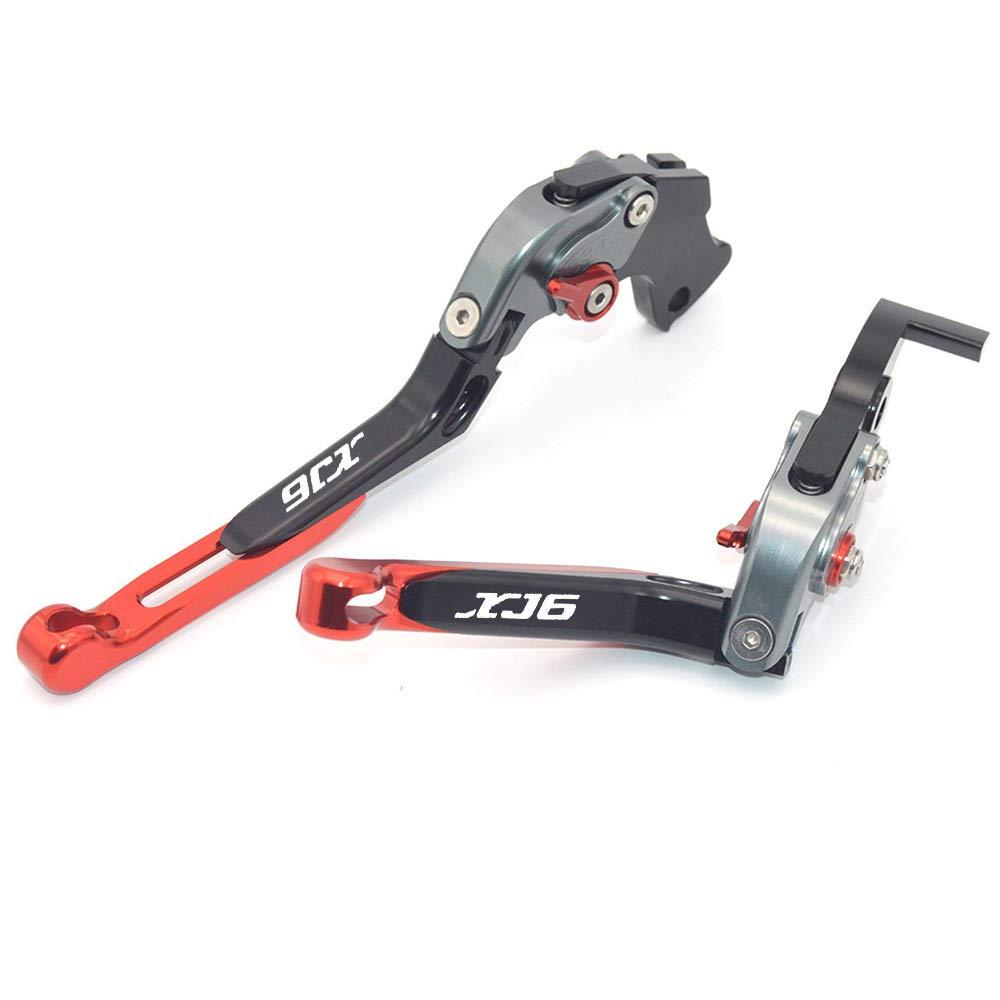 /2015 CNC allungabile pieghevole moto regolazione del freno leve frizione per Yamaha XJ6/Diversion 2009/