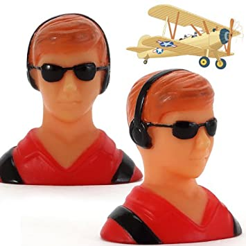 AGM® 1/10 Pilot Figure Model Statue for RC Hobby Aircraft