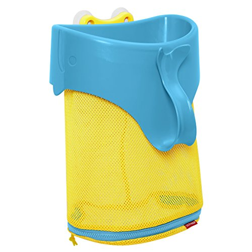 - Skip Hop Moby Scoop & Splash Bath Toy Organizer And Storage, Blue