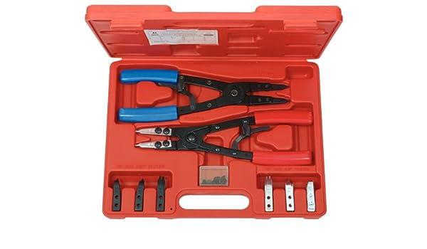 KS Tools 500.1350 Pack alicates para Anillos de retención Seeger, con función de carraca, 20pcs, Set de 20 Piezas: Amazon.es: Bricolaje y herramientas