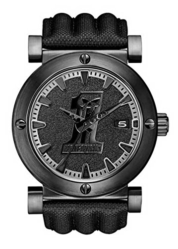 Harley-Davidson Men's Bulova Black #1 Racing Skull Wrist Watch 78B131