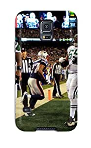 Premium Durable New York Jets Fashion Tpu Galaxy S5 Protective Case Cover