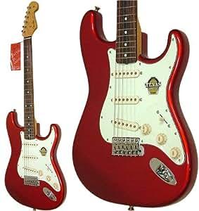 Fender Japón st62-tx OCR Stratocaster antiguo Candy rojo 62 estilo japonés guitarra eléctrica