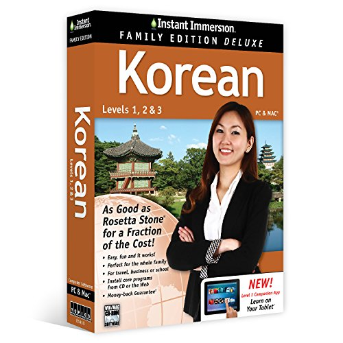 Learn Korean: Instant Immersion Family Edition Language Soft