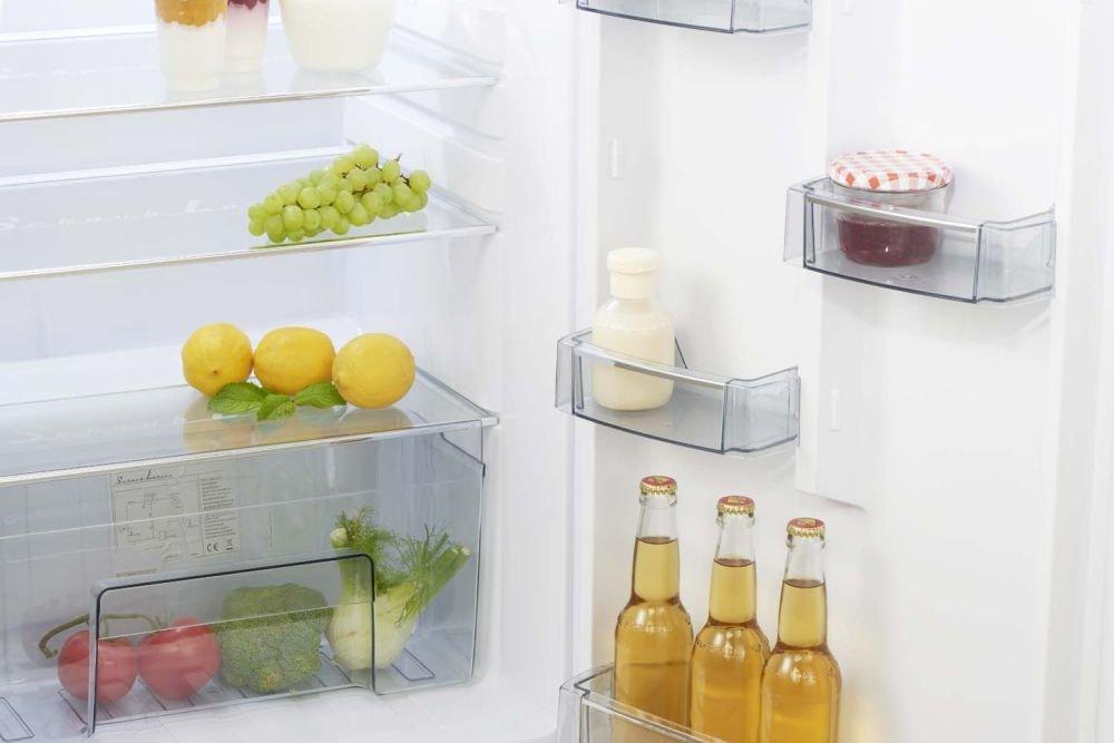Retro Kühlschrank Medion : Retro kühlschrank hellblau glanz a 208 liter kühl gefrierkombi
