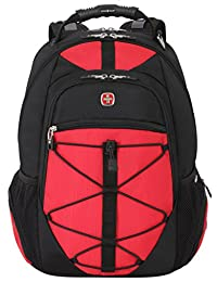 SwissGear SA6799 Black with Red TSA Friendly ScanSmart Computer Backpack-Fits Most 15 Inch Laptops and Tablets