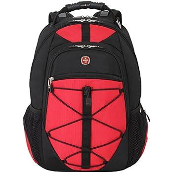 Amazon.com: Swiss Gear SA6799 Black with Red TSA Friendly ...