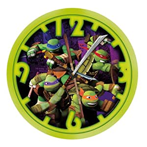 United Labels 0118494 Wall Clock in Teenage Mutant Ninja Turtles by United Labels