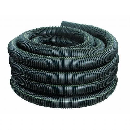 Corrugated Drainage Pipe - Advanced Drainage Systems 04510100 Solid Singlewall Pipe, 4