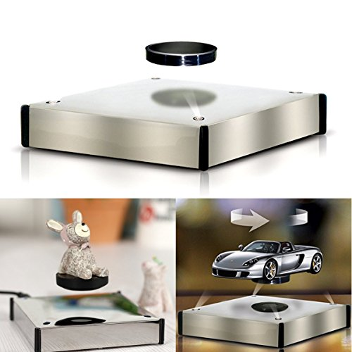 Disumos Magnetic Levitation Floating Ion Revolution Display Platform Tray with Ez Float Technology