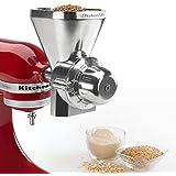 KitchenAid KGM Mixer Attachment Grain Mill Wheat Corn Grinders Flour Maker Oats by KGM Mixer Attachment