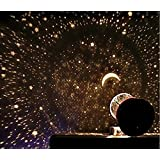 Night Romatic Gift Cosmos Star Sky Master Projector Starry Night Light Lamp (Color: Multicolor)