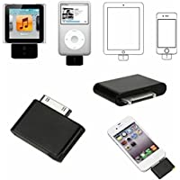 Simply Silver - TOP Audio Adapter Transmitter Dongle for iPod Stereo Bluetooth Digital Stereo EF - Unbranded