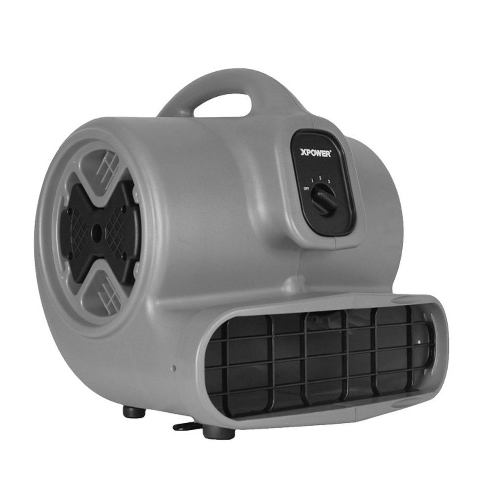 XPOWER P-630 1/2 HP 2800 CFM 3 Speed Professional Air Mover, 5.0-Amp by XPOWER B0072FUDDU