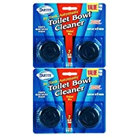 4 Pack Duette Automatic In-Tank Toliet Bowl Cleaner Tabs - Each Tablet Lasts Up To 6 Weeks