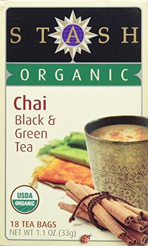 Stash Tea Organic Green Black Chai Tea - 18 - Stash Green Tea Chai