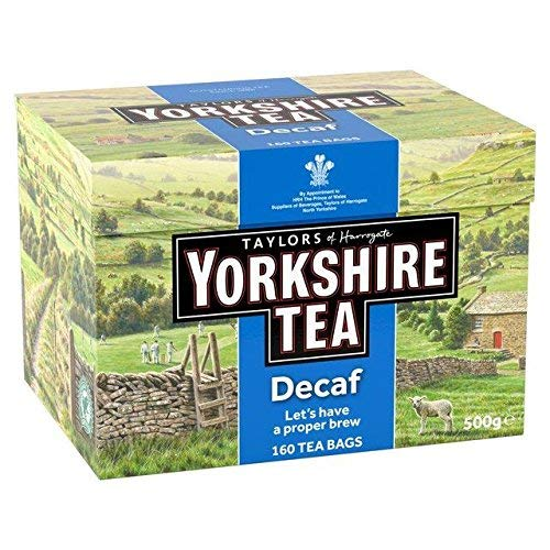 Yorkshire Tea Cakes - Yorkshire Decaf Teabags 160 per pack