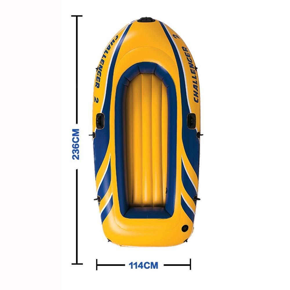 YTBLF Kayak Inflable para 2 Personas, Barco de Pesca ...