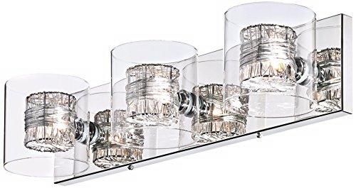 Possini Euro Design Wrapped Wire 22 Wide Bathroom Light Import