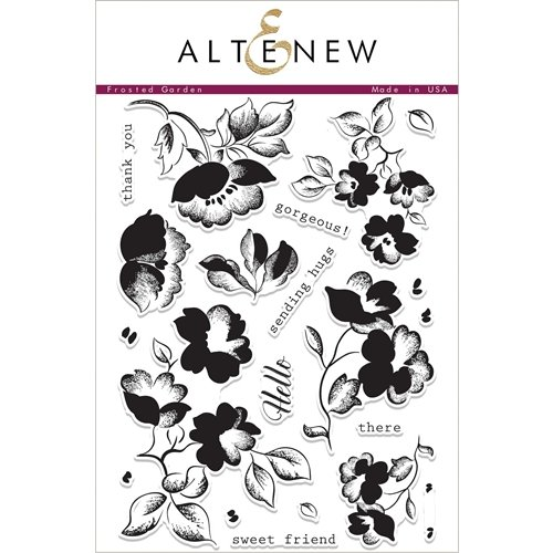 Altenew Clear Stamps, Frosted Garden
