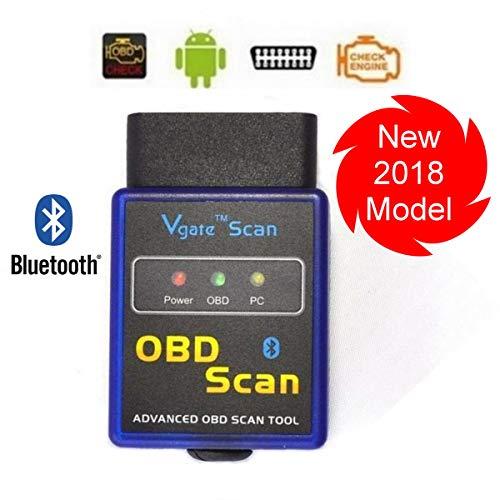 Bluetooth Wireless Vgate OBD2 / OBDII Auto Car Diagnostic Code Scanner