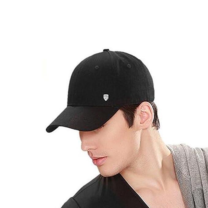 Crazy lin Verano Unisex Hombres 100% algodón de Color sólido Sombrero  Visera Gorra de béisbol  Amazon.es  Ropa y accesorios e42930e72c6