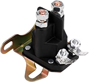 12V Starter Solenoid Relay Replacement # 892-1251-210, 892-1251-210-50 for Golf Cart, Utility Vehicles, ATV, Snowmobiles, Toro Gravely Lawn Mower 4 Terminals 200A Rating Max 300A Contactor