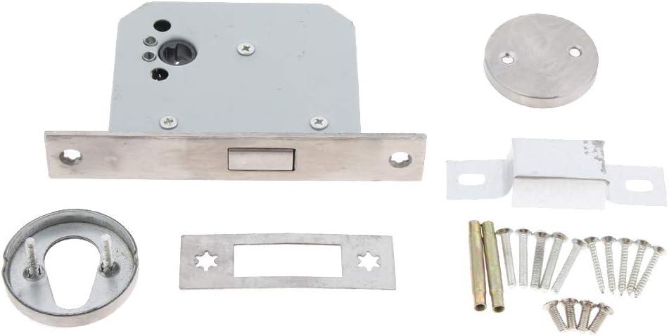 Cerradura de Puerta Cortafuego de Entrada Accesorios de Laboratorios Producto Comercial - tal como se describe, Cilindro de acero