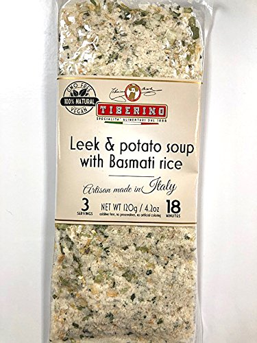 Tiberino's Real Italian Meals - Leek & Potato soup w/ Basmati rice by Tiberino