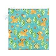 Bumkins Disney Baby Reusable Snack Bag Large, Simba