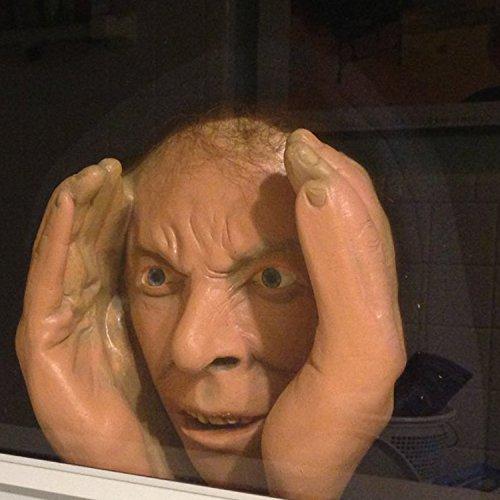 Halloween Scary Peeping Tom True To Life Window Prop