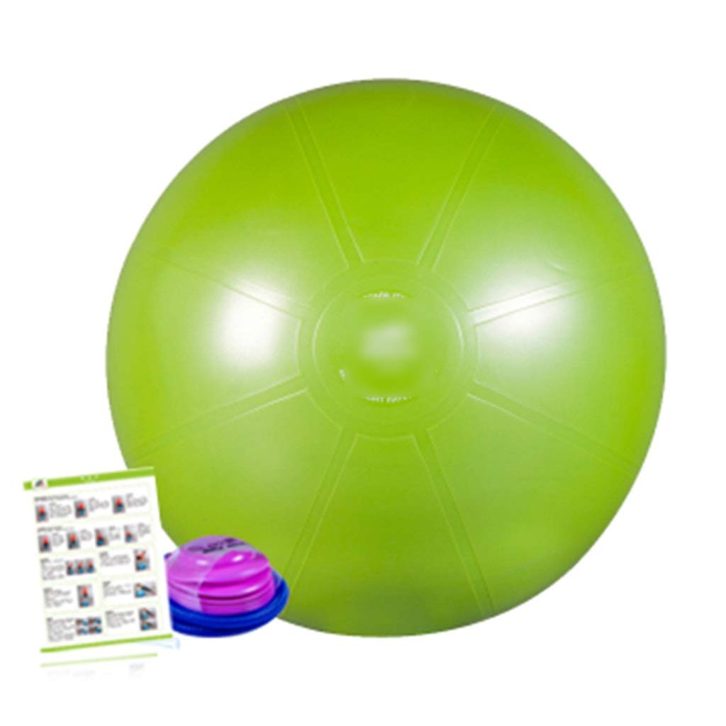 Sports Fitness Yoga Ball Thick Explosion-Proof Indoor Fitness Ball Children's Fitness Sense Training Ball Weight Loss Sports Ball Balance Ball (Load: 120kg) Exercise Ball Chairs