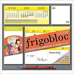 Calendrier Pro A 2020 2019.Frigobloc 2020 Hebdomadaire Calendrier D Organisation