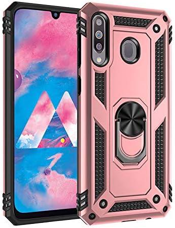 BestST Funda Samsung M30/ Galaxy A40S con Anillo Soporte, con HD ...