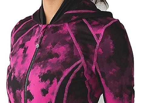 Lululemon Daily Practice Jacket Hoodie Blooming Pixie Raspberry ...