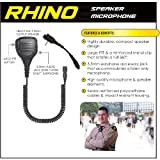 Earphone Connection RHINO QR Shoulder Mic for Vertex VX 2-Way Radios (See List)