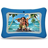 Tablet for Kids,Android 7.0 Quad-Core 7inch Eyes-Protection TouchScreen Kids Tablet with Wifi Bluetooth Google Play Store Childrens Games & Educational Apps Pre-Installed,8GB Storage (Blue)